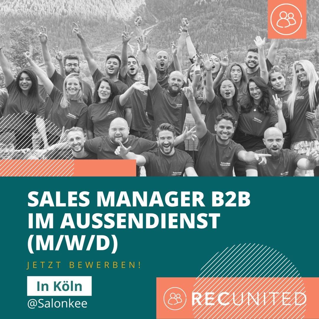 Sales Manager B2B (m/w/d) im Außendienst bei Salonkee